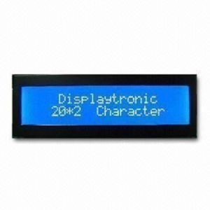 Stn LCD Display Module with Y/G Back Light, 20 Characters 2 Line pictures & photos