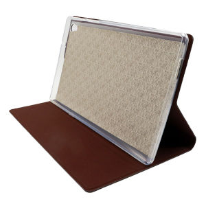 Simplicity Lattice Bracket Leather PU Cases for Tablet/iPad/Samsung pictures & photos
