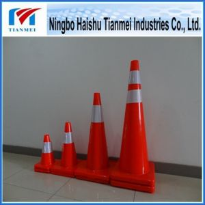 Manufacturer 100% New PVC Road Safety Cone pictures & photos