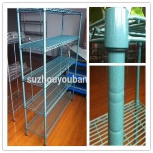 2016 Hot Sell 5 Layer Amercian Market Green Epoxy Wire Storage Rack Display Shelf Metal Shelf (WS022) pictures & photos