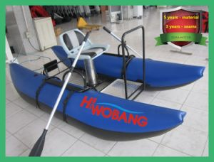 Unique Shape Inflatable Pontoon Boat for Fishing and Sport pictures & photos