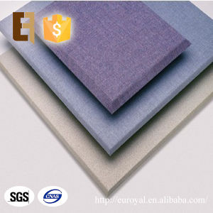Interior Decorative Soundproof Fabric Covered Acoustic Isolated Panel