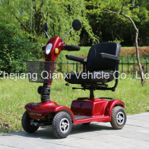(ST098) 4 Wheel Electric Mobility Elderly Folded Scooter pictures & photos