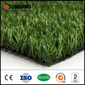 SGS Certificate 25mm Synthetic Natural Grass Turf for Garden
