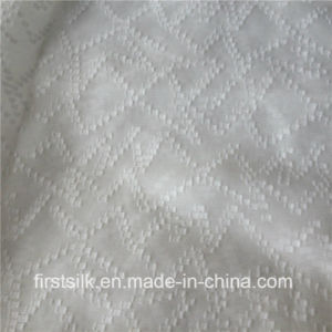 Silk Cotton Clip Woven Fabric pictures & photos