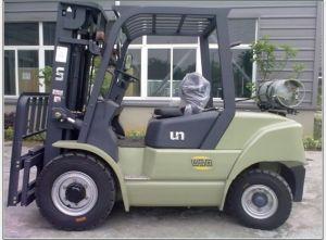 Un 7.0t Diesel Forklift with Original Isuzu Engine pictures & photos
