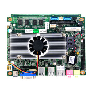 Intel Atom Fan Motherboard L2 Cache Embedded Motherboard with 4*USB pictures & photos