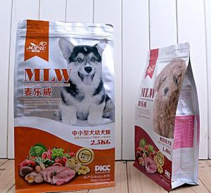 Free Logo Design Ziplock Pouch Pet Food Plastic Packaging pictures & photos