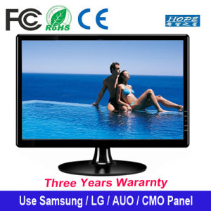 "Professional Monitor Widescreen 15.6"" Inch LED Display VGA Support HDMI for Computer pictures & photos"