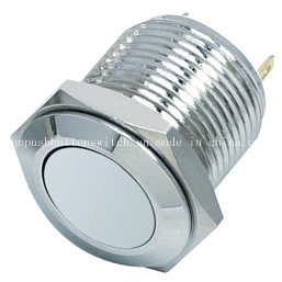 16-D1 Flat Momentary 2 Pin Metal Switch pictures & photos