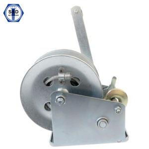2000lbs 900kg Hand Winch Zinc Plated High Quality