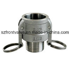 Precision Casting/Investment Casting Ss Cam Lock-Type B Coupler Male pictures & photos