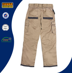 Mens Construction Woker Workwear Durable Work Cargo Pants pictures & photos