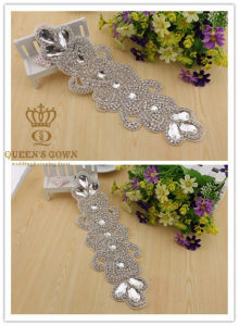 The New Bride Wedding Dress Rhinestone Belts, DIY Accessories pictures & photos