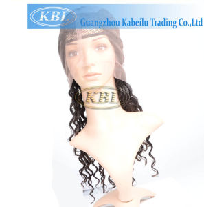 ... Half Lace Wigs for Black Women - China Indian Remy Gray, Half Lace
