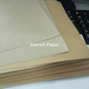 Carton Box Surface Paper Kraft Paper Board pictures & photos