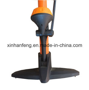 Aluminum Tube Bicycle Hand Pump for Bike with Gauge (HPM-005) pictures & photos