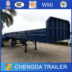 3 Axle Side Board Container Trailer for Sale pictures & photos