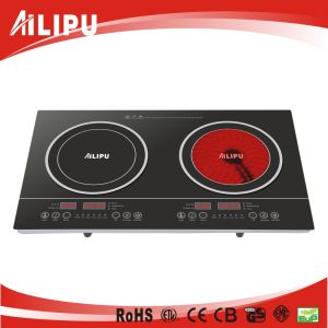 Double Burner Cookware of Infrared Heater pictures & photos
