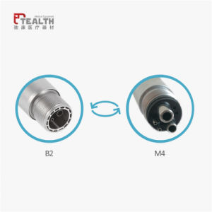 Tealth High Speed Push Button Dental Turbine Handpiece pictures & photos