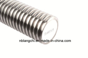 Trapezoidal Thread Open Screw Lead Screw Tr60X9 pictures & photos