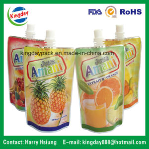 Standup Spout Pouch for Fruit Juice Packing