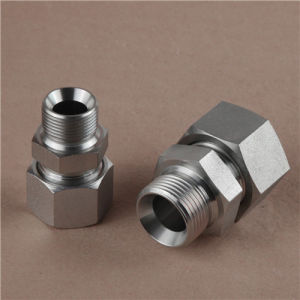 Bsp Thread 60 Cone Seali or Bonded Seal British Standard Adapter pictures & photos