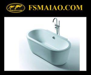 Modern Style Acrylic Freestanding Soaking Bathtub (BA-8513) pictures & photos