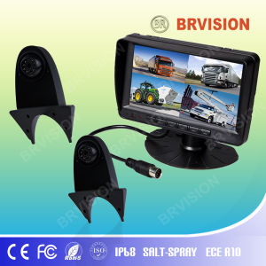Vehicle Surveillance System/7 Inch Digital Monitor/Shark Mount Braket Camera pictures & photos