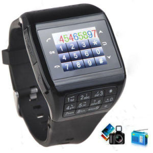 Touch Screen SIM Mobile Cell Phone Wrist Smart Watch pictures & photos