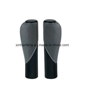 Cheap Rubber Ergonomic Bicycle Grips for Mountain Bike (HGP-032) pictures & photos