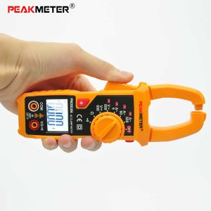 Pocket 6000 Counts Manual Range 600A AC Digital Clamp Meter