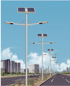 Solar LED Street Lighting with Double Arms