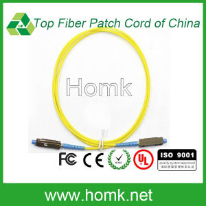 Simplex Simglemode Fiber Optic Patch Cord Mu pictures & photos