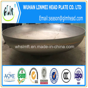 Large Size Stainless Steel 316L 2: 1 Semi Ellipsoidal Head Cap pictures & photos