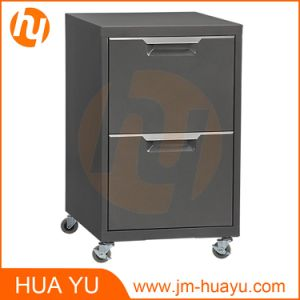Office Furniture 2 Drawers Rolling Storage Filing Cabinet pictures & photos