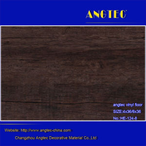 Hot Sales Luxury Vinyl Flooring/Plastic PVC Flooring/Vinyl Floor Planks with Fiberglass/Commerical Vinyl Tile Floors pictures & photos