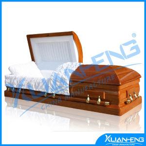 Custom Luxury Wood Casket & Coffin pictures & photos