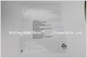 Plastic Clear Grip Seal Resealable Polyethylene Zip Lock Bags pictures & photos