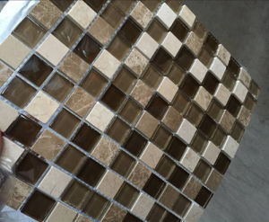 Linear Wall Mosaic/Crystal Mosaic/Glass Mosaic/Stone Mosaic Tile pictures & photos