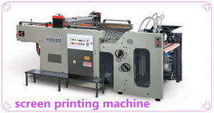 Automatic Two Color Flat Surface Screen Printing Machine
