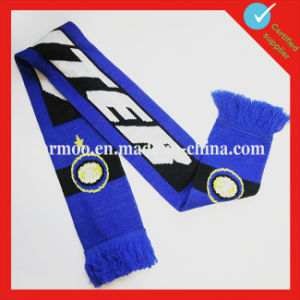 Simple Checkered Football Team Fans Scarf pictures & photos