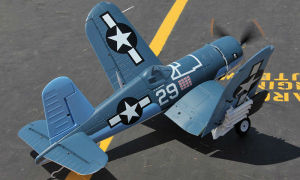 F4u 12CH 2.4G Radio System RC Model Airplane