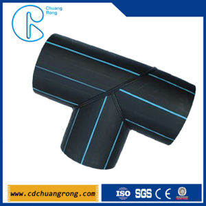 HDPE/PE Fabricated Plastic Pipe Equal Tee Fittings pictures & photos