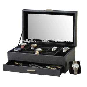 Saffiano Deluxe Watch Case pictures & photos