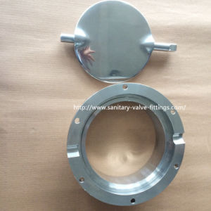 Sanitary Stainless Steel Butterfly Valve Food Grade 304/316L Tc Clamp/Weld/Thread/Male-Female Connection CNC Machine pictures & photos
