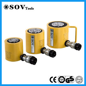Single Acting High Tonnage Lightweight Low Profile Telescopic Hydraulic Cylinder pictures & photos
