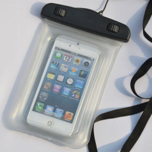 Inflatable Outdoor Sports PVC Waterproof Mobile Phone Pouch (YKY7267-2) pictures & photos
