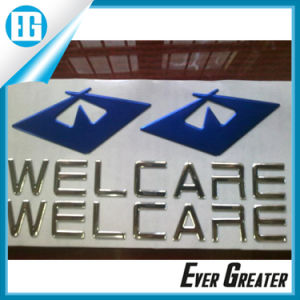 Cheap Custom Chrome 3D Soft PVC Sticker with Your Design pictures & photos