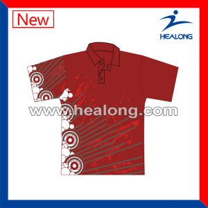 Healong Screen Printing and Never Fade out Polo Shirt pictures & photos